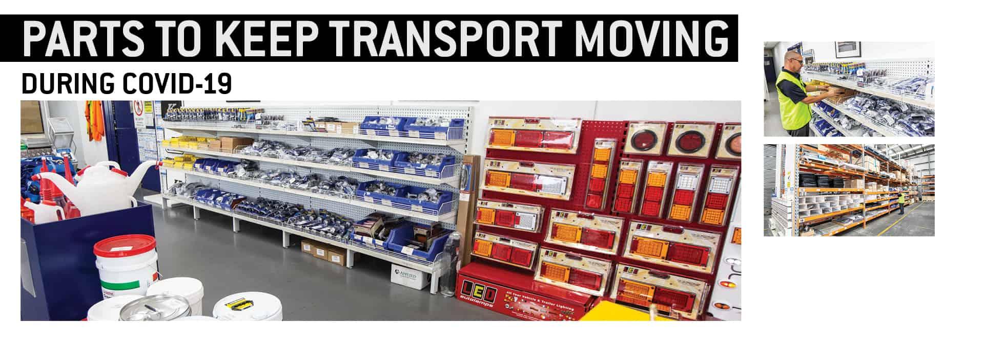 Krueger transport spare parts store