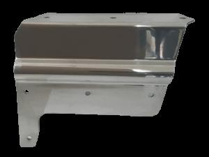Pelmet Rubber Cover Plate R-Hand Rear