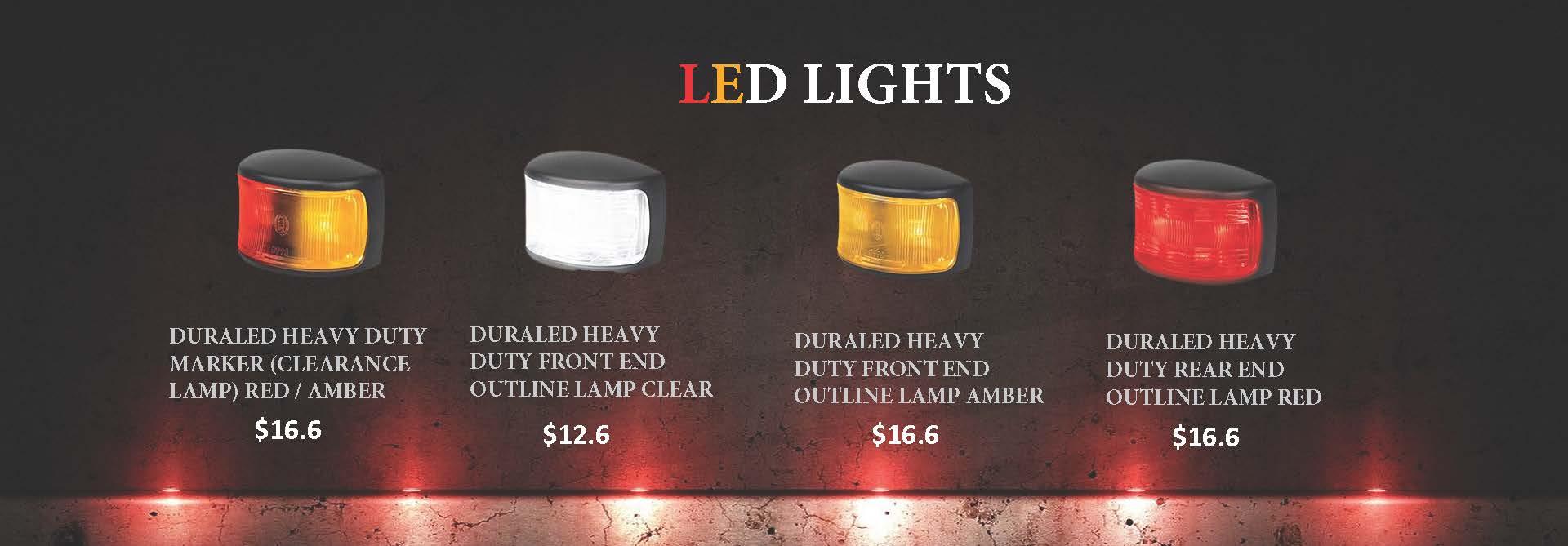 Semi trailer LED lights