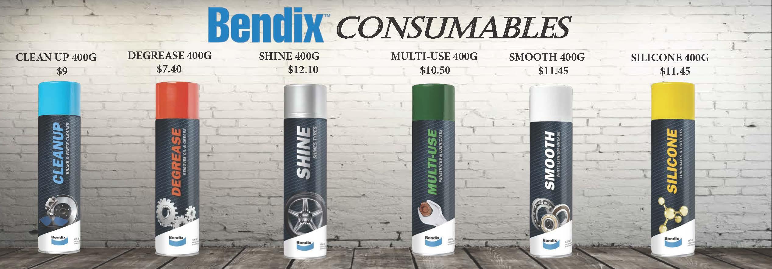 Bendix Consumables